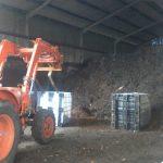 Traitement du compost sur plateforme agréée