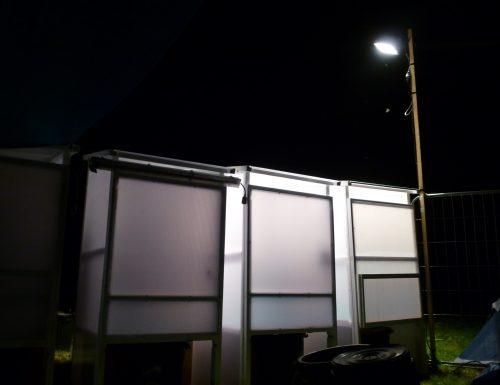 Cabines toilettes sèches mobiles autonomes RespectÔ - Macrolon / Bois - Festival